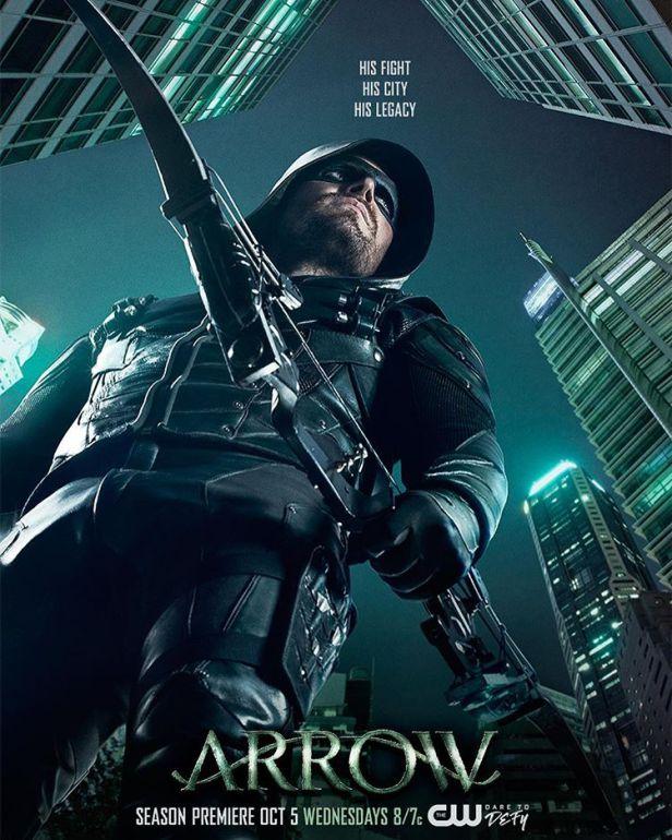 Spoilers 5ª temporada de Arrow Arrow-season-5-poster