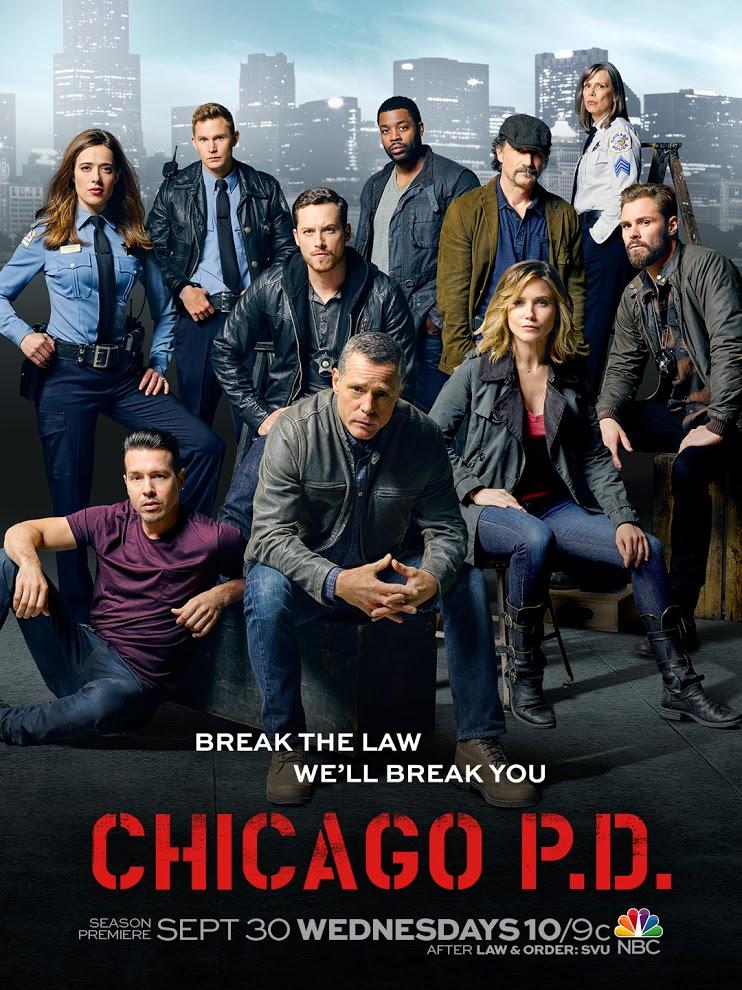 poster tercera temporada chicago pd