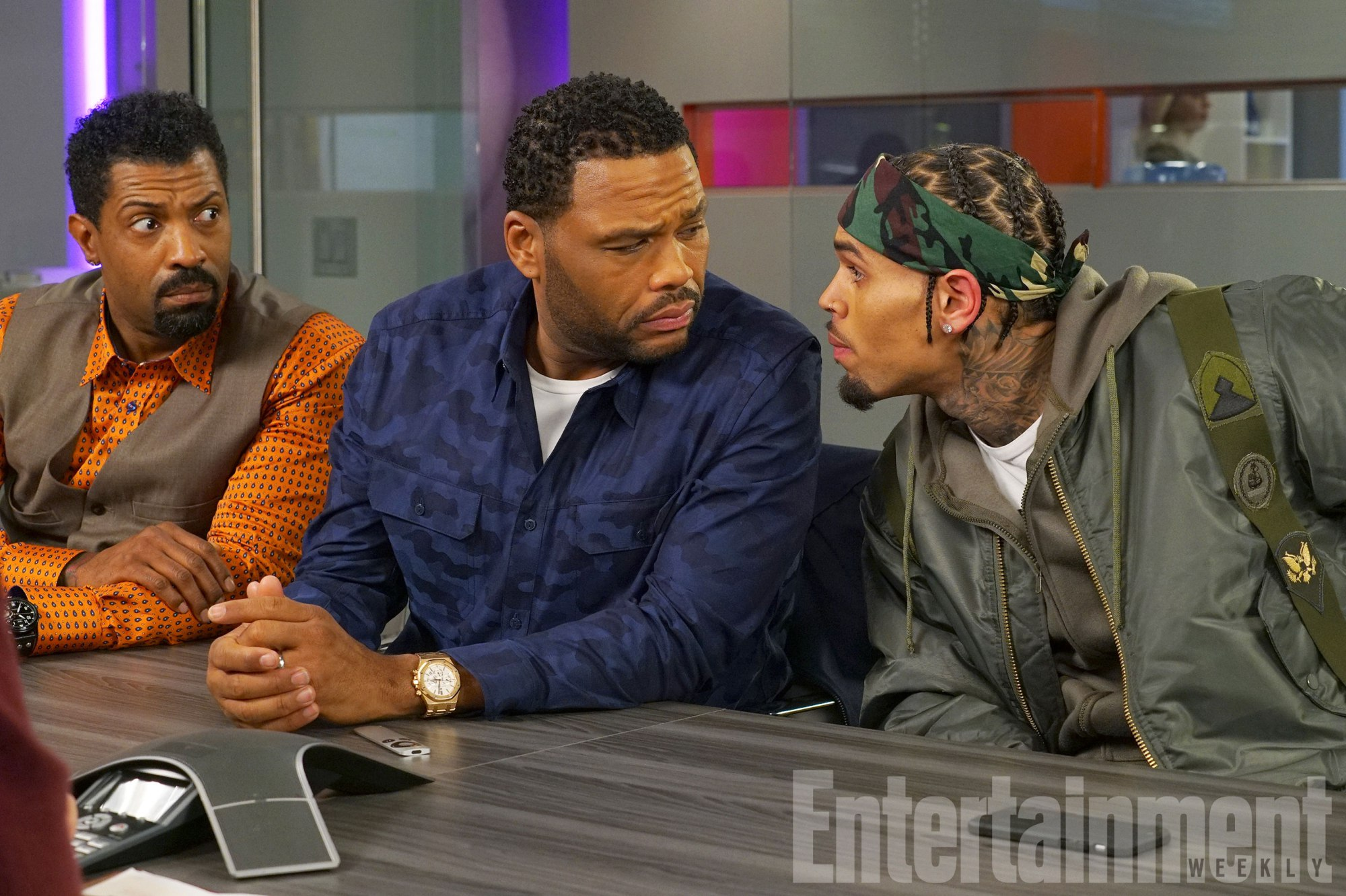 DEON COLE, ANTHONY ANDERSON, CHRIS BROWN