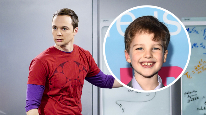 """The Locomotion Reverberation""-- Pictured: Sheldon Cooper (Jim Parsons). Leonard and Wolowitz try to distract Sheldon when he slows the progress of their guidance system.  Also, Penny and Amy take Bernadette out for the night, leaving Raj and Stuart to care for baby Halley, on THE BIG BANG THEORY, Thursday, Feb. 9 (8:00-8:31 PM, ET/PT), on the CBS Television Network.   Dean Norris returns as Colonel Williams. Photo: Sonja Flemming/CBS ©2017 CBS Broadcasting, Inc. All Rights Reserved."