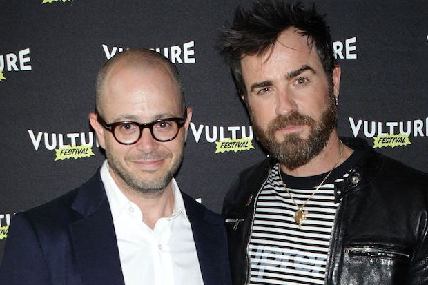 Mandatory Credit: Photo by MediaPunch/REX/Shutterstock (5691718a) Damon Lindelof and Justin Theroux Vulture Festival: Inside The Leftovers, New York, America - 22 May 2016