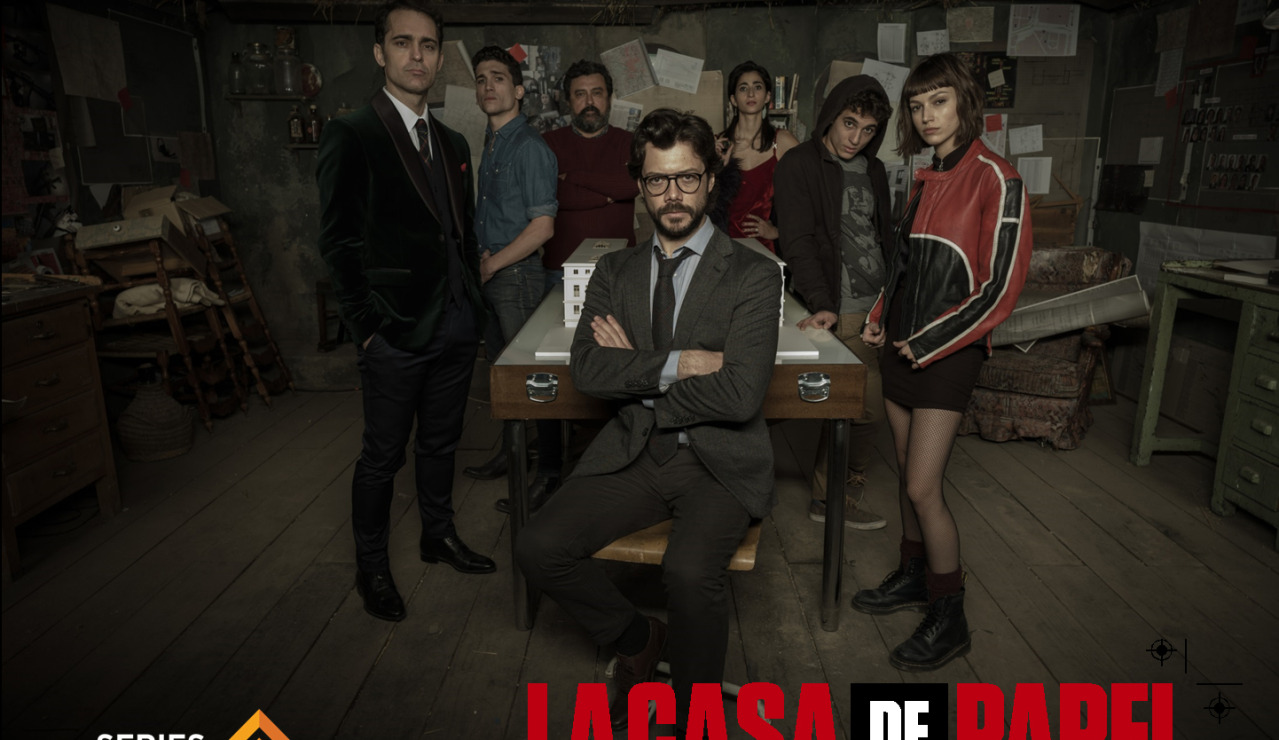 trailer de la casa de papel nueva serie de antena 3 series adictos. Black Bedroom Furniture Sets. Home Design Ideas