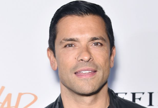 Mandatory Credit: Photo by Stephen Lovekin/REX/Shutterstock (7549161z) Mark Consuelos 'All We Had' film premiere, Arrivals, New York, USA - 06 Dec 2016