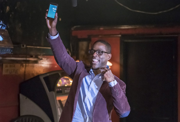"THIS IS US -- ""Memphis"" Episode 116 -- Pictured: Sterling K. Brown as Randall -- (Photo by: Ron Batzdorff/NBC)"