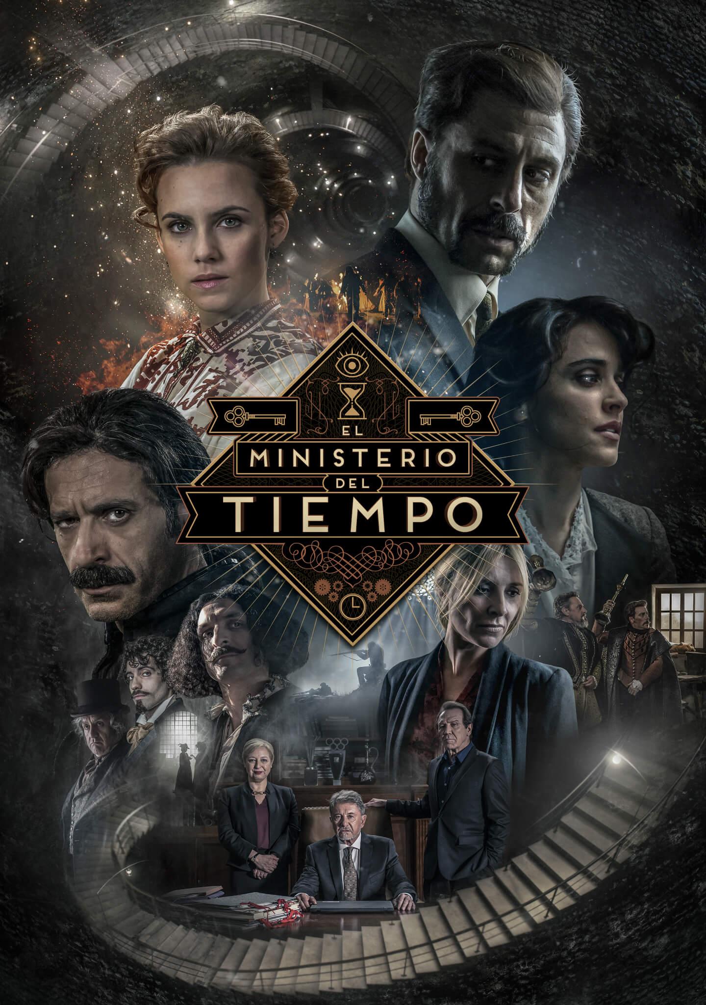 Resultado de imagen de el ministerio del tiempo poster