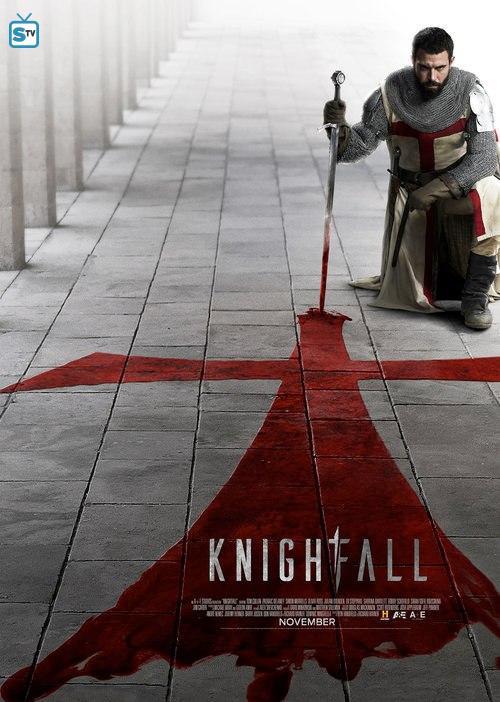 Resultado de imagen de poster knightfall