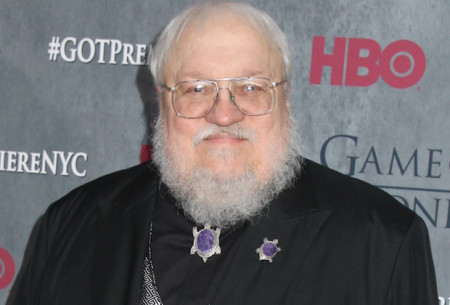 Mandatory Credit: Photo by Gregory Pace/BEI/BEI/Shutterstock (3659665dp) George R. R. Martin 'Game of Thrones' Fourth Season premiere, New York, America - 18 Mar 2014
