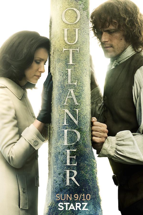 Resultado de imagen de poster outlander tercera temporada