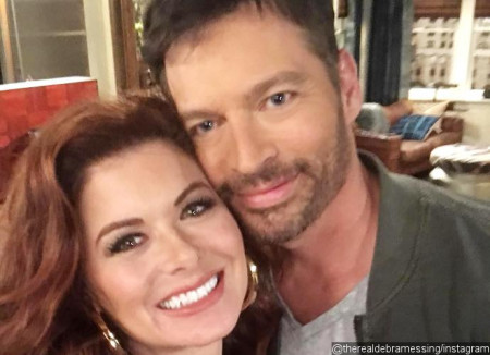 debra-messing-and-harry-connick-jr-reunite-for-will-and-grace-reboot