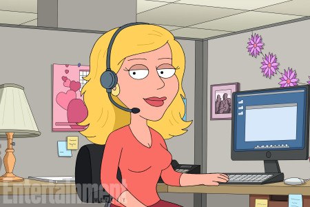 Family Guy -- Pictured: Kristen Bell CR: Fox