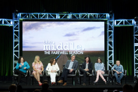 PATRICIA HEATON, NEIL FLYNN, CHARLIE MCDERMOTT, EDEN SHER, ATTICUS SHAFFER, EILEEN HEISLER (EXECUTIVE PRODUCER), DEANN HELINE (EXECUTIVE PRODUCER)