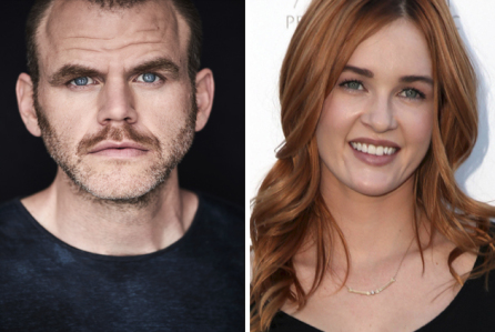 Michael Maize y Ambyr Childers fichan por el drama de Lifetime, You