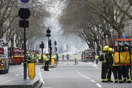 Britain Accident - Apr 2015