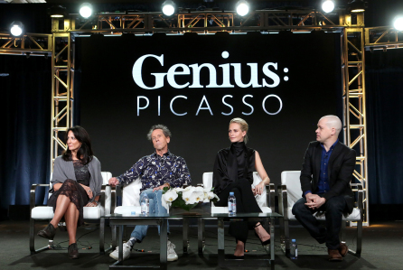 National Geographic 'Genius' TV show panel, TCA Winter Press Tour, Los Angeles, USA - 13 Jan 2018