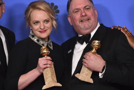 75th Annual Golden Globe Awards - Press Room, Beverly Hills, USA - 07 Jan 2018