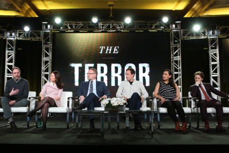 AMC 'The Terror' TV show panel, TCA Winter Press Tour, Los Angeles, USA - 13 Jan 2018