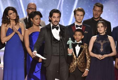 24th Annual SAG Awards - Show, Los Angeles, USA - 21 Jan 2018
