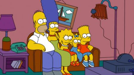 Lo Simpson predijo el Space X, coche lanzado al espacio