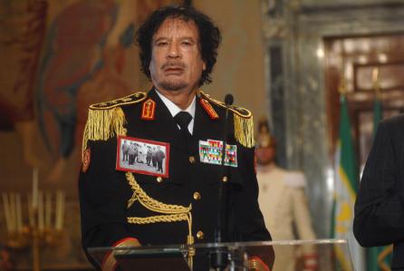 Leader of Libya Muammar Gaddafi visit to Italy, Rome, Italy - 10 Jun 2009