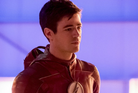 "The Flash -- ""Enter Flashtime"" -- Image Number: FLA415a_0127b.jpg -- Pictured: Grant Gustin as Barry Allen/The Flash -- Photo: Katie Yu/The CW -- © 2018 The CW Network, LLC. All rights reserved"