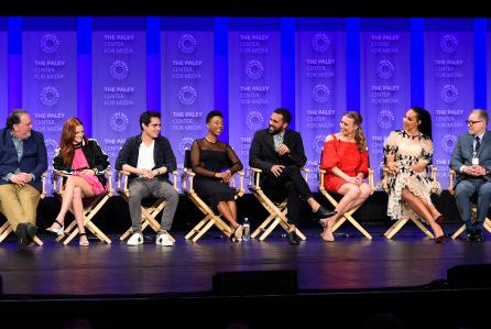 'Handmaids Tale' TV Show, presentation, Panel, Paleyfest, Los Angeles, USA - 18 Mar 2018