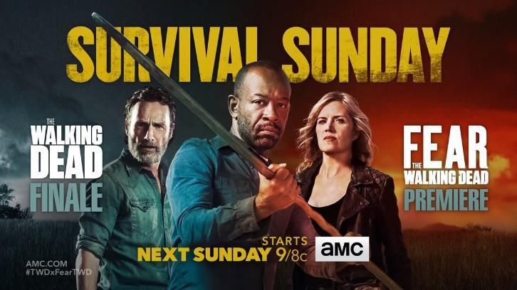 Promo del crossover entre The Walking Dead y Fear The Walking Dead ...