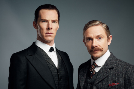 'Sherlock' TV Programme, UK - 2015