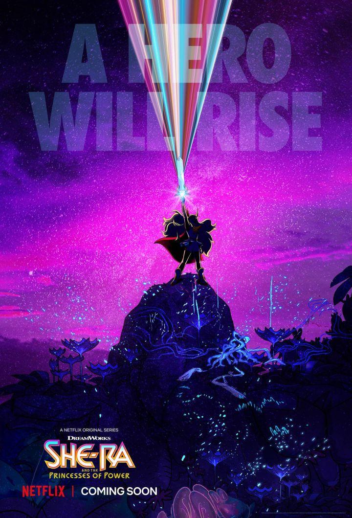 Netflix desvela poster de She-Ra and the Princesses of Power y ...