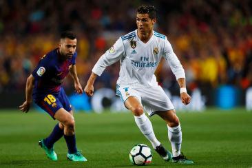 Barcelona v Real Madrid, La Liga, Camp Nou, Barcelona, Spain - 06 May 2018