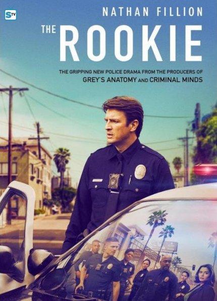 rookie poster_595_Mini Logo TV white - Gallery