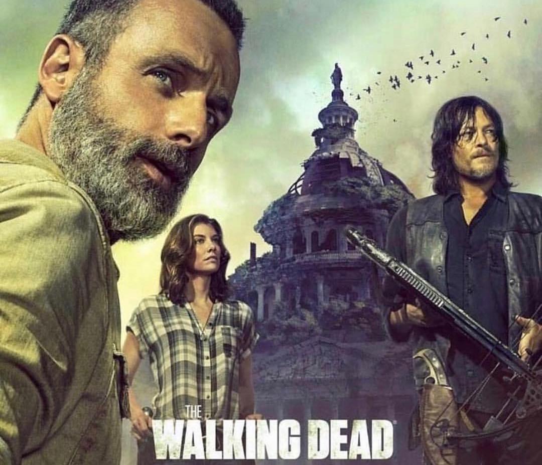 AMC da a conocer el primer poster de la novena temporada de The ...