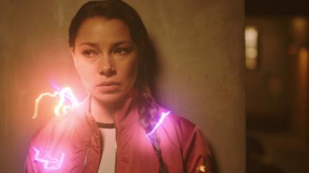 The Flash: Foto filtrada del rodaje muestra como será el traje de Nora-West Allen en la quinta temporada