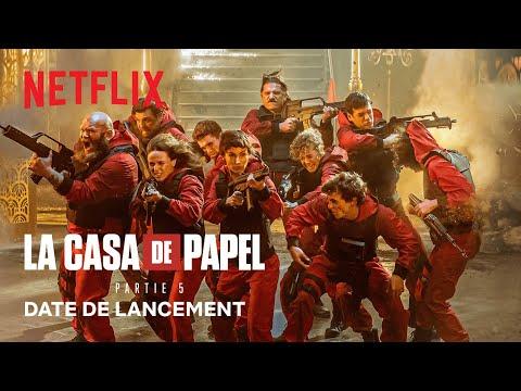 La Casa de Papel: 5ta parte 教 Fecha de lanzamiento VF 将 Netflix España